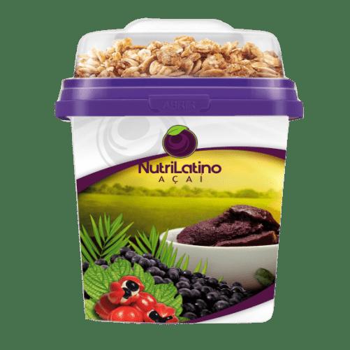 Mix  Açaí  Nutrilatino Pote 220ml